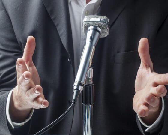 Pressekonferenzen und Interviewtraining